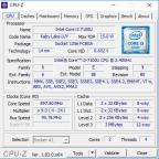 ThinkPad 11e 4th gen cpu-z cpu