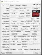 E580 - gpuz AMD