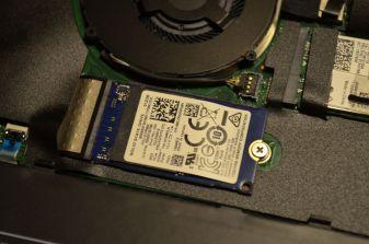 SSD disk v M.2 slotu.
