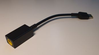 Detail Lenovo ThinkPad Slim Tip Power Conversion Cable.