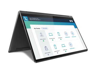 Lenovo-Connected-Home-Security dashboard 1