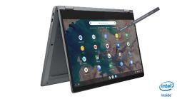 Lenovo-IdeaPad-Flex-5-Chromebook 13Inch Graphite Grey Tent Mode Pen