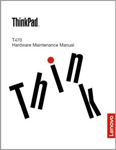Úvodní strána HMM pro ThinkPad T470.