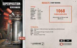 Superposition Benchmark medium (IdeaPad S340-14IKB).