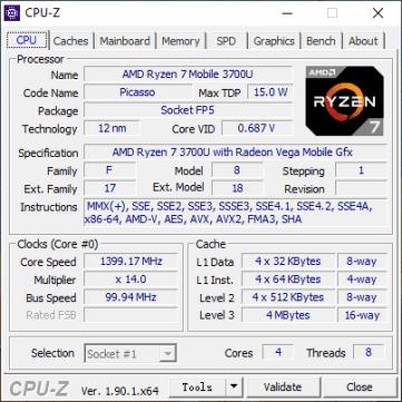 CPU-Z CPU (IdeaPad S340-14IKB).