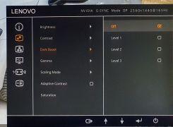 LCD Legion Y27gq-20 OSD5