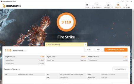 FireStrike YogaSlim7