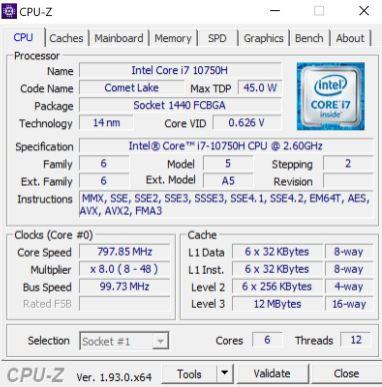 ThinkPadX1ext3 CPUz