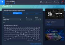Legion5pro Vantage Keyboard