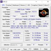 Yoga Slim 7 Pro 14ACH5 CPU-Z