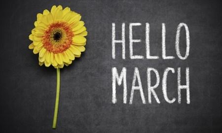 Tipy na marec