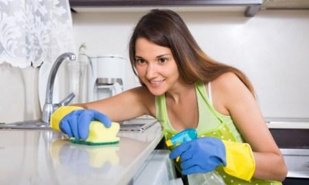 upratovanie kuchyne bez použitia chemikálií
