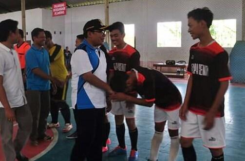 Turnamen Futsal Bupati Cup Meriah