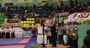 Kejuaraan Taekwondo Kapolri Cup 2019 Resmi Dibuka Di Cibubur