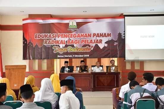 LensaHukum.co.id - IMG 20191007 WA0057 - Pelajar Kabupaten Bener Meriah Ikuti Pencegahan Paham Radikal