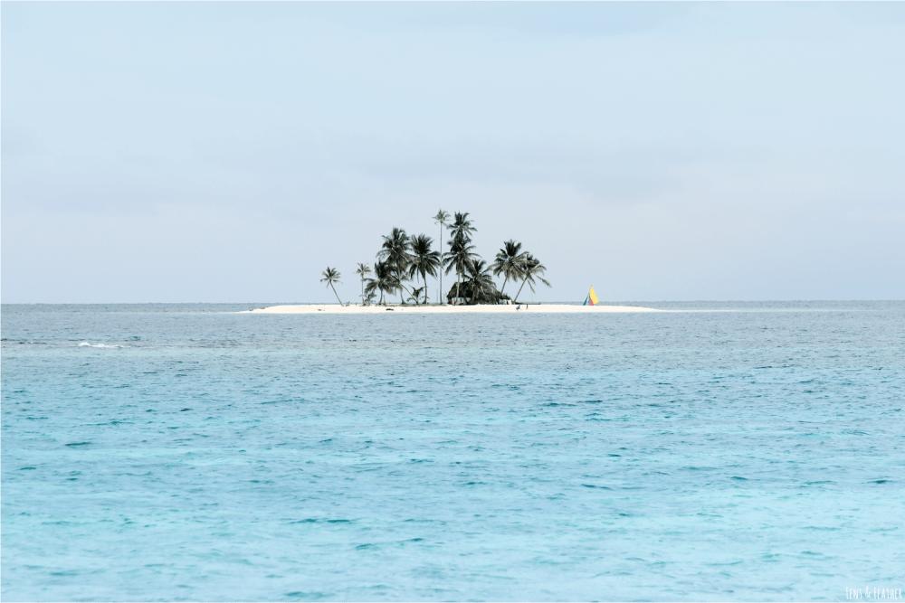 Kleine San Blas Insel Panama