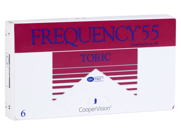 Cheap Frequency 55 Toric Contact Lenses