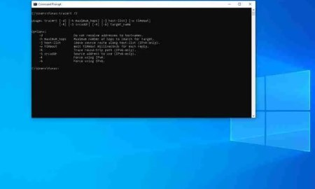 Traceroute and tracert commands