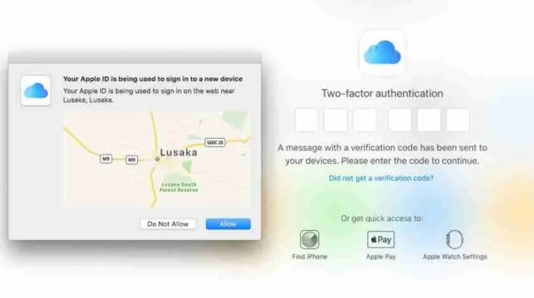 Apple two-factor authentication finally available for Zambia 2