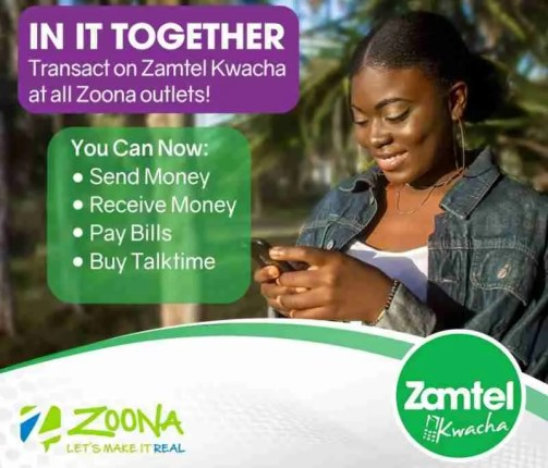 Zamtel and Zoona partnership in the Fintech