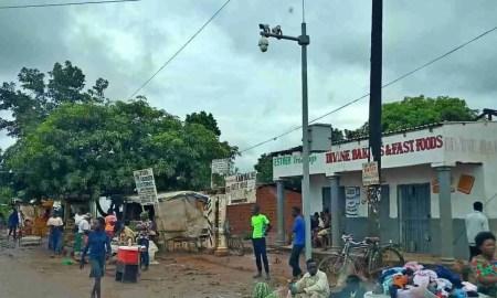 A government street camera in Zambia