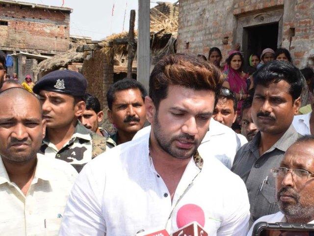 बिहार :: आंतरिक सुरक्षा से निपटने में सरकार उठाये कड़े कदम : चिराग पासवान [ सांसद ]