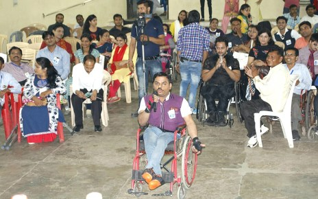 Fashion show audition for specially abled and senior citizens