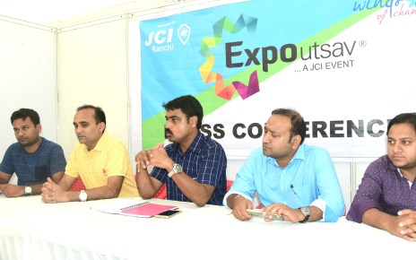 All set for expo 2017 :: ex cm of jharkhand , babu Lal marandi will inagurate the project.