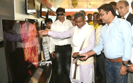 Ex cm of jharkhand, babu Lal marandi inaugurated the expo utsav