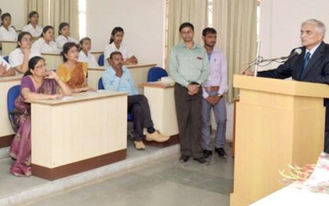 interaction session in delhi public school