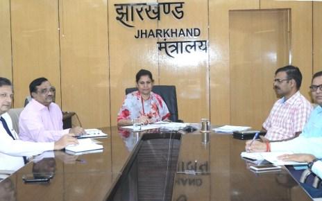 मुख्य सचिव राजबाला वर्मा ने बैंकों को दिया 1000 करोड़ वित्तीय समावेशन का लक्ष्य : कहा 15 नवंबर से पहले पूरा हो लक्ष्य