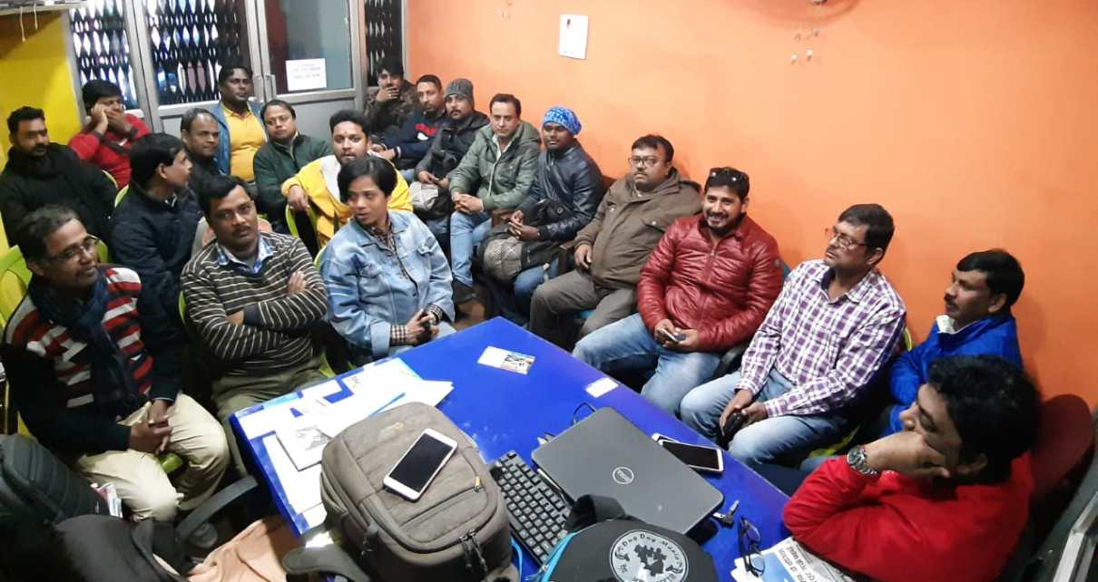 Jharkhand photo journalist Association will give candidates for every post