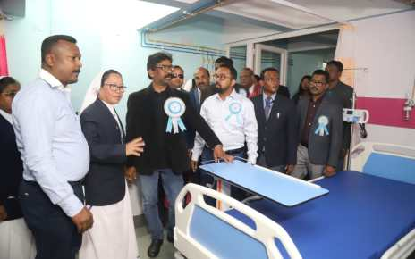 Feeling honoured by inagurating sant anna hospital and research centre : hemant Soren, cm Jharkhand