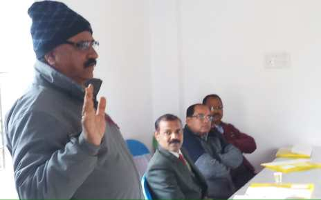 Juj is determined for the betterment of zonal and town journalists : sheo kumar Agarwal