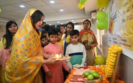 Saraswati puja by jci women wing