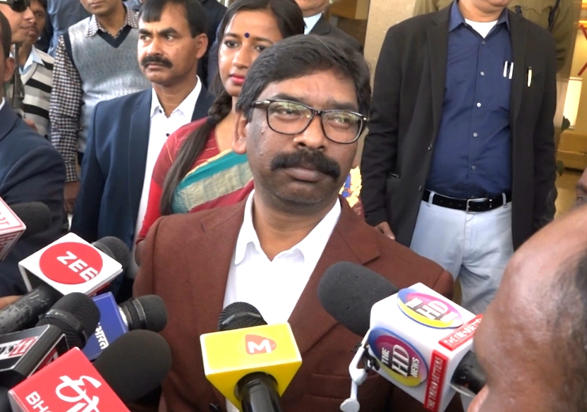 Positive politics has been started, said cm Jharkhand hemant Soren