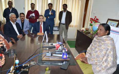 Jharkhand :: minister joba manjhi took the office charge
