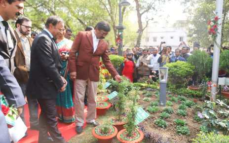 Emphasis will be laid on the plantation of the herbal plants