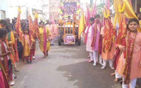 Inaguration of three days sri shyam falguni satrangi mahotsav