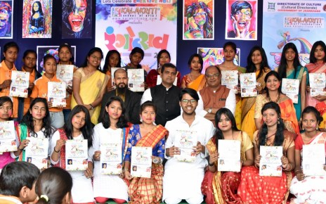 Indradhanush coloursof life painting exhibition concluded : competitors felicitated