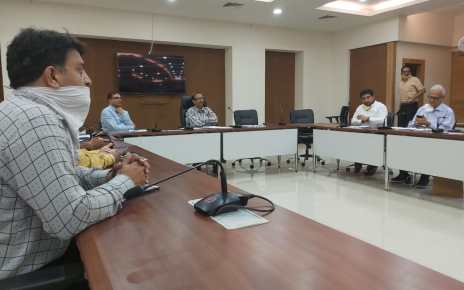Meeting between food supply department and Jharkhand chamber