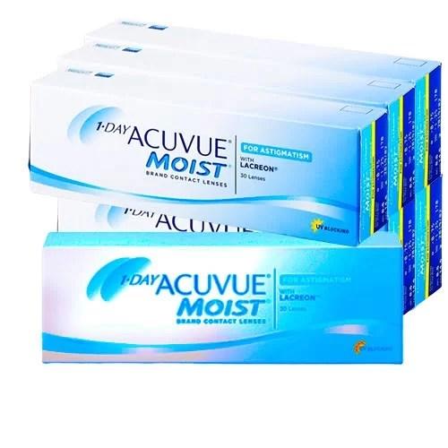 Acuvue Moist Astigmatism 6 Kutu,kampanyalı lens fiyatı, günlük astigmatlı lens fiyatı, acuvue moist lens fiyatı