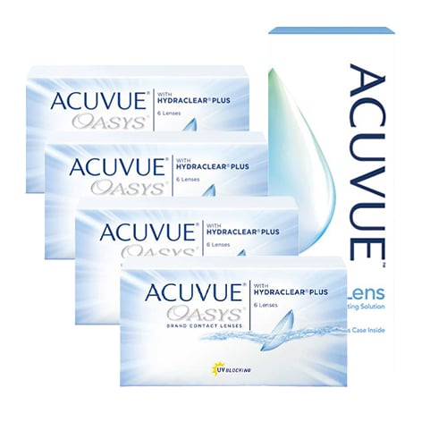Acuvue Oasys Kampanyalı 4 Kutu, acuvue oasys lens fiyatı, kampanyalı oasys lens fiyatı, indirimli acuvvue oasys lens fiyatı