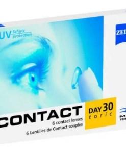 Contact Day 30 Toric, astigmatlı lens fiyatı. zeiss lens fiyatı