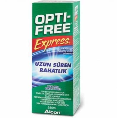 Opti Free Express 355 ml, optifree express solusyon fiyatı,optifree solüsyon fiyatı