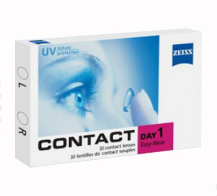 contact day one, zeiss günlük lens fiyatı