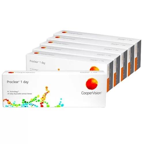 Proclear 1 day 6 Kutu, kampanyalı günlük lens fiyatı, proclear günlük lens fiyatı