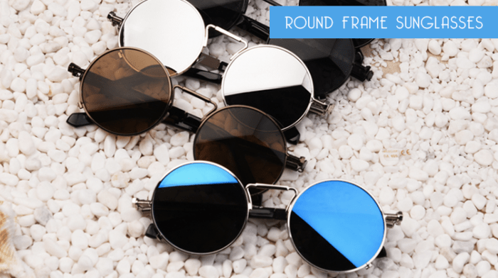 Round Sunglasses Stylish Sunglasses for Men