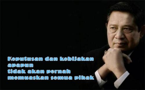 Pemimpin Harus Pragmatis quotes SBY