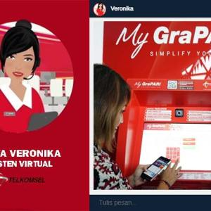 Veronika Nama Asisten Virtual Telkomsel